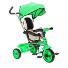 """Велосипед трехколесный Micio Light 2018, колеса EVA 10""""/8"""", цвет зеленый"""