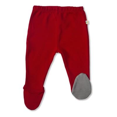 Ползунки детские, рост 68 см,цвет красный ПЗ-116_М