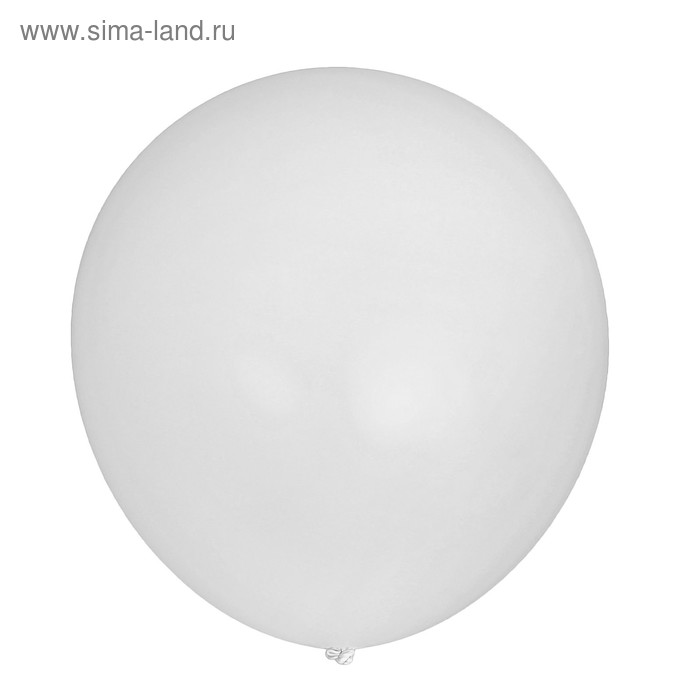 "Balloon latex 12"", set of 5 PCs, white"