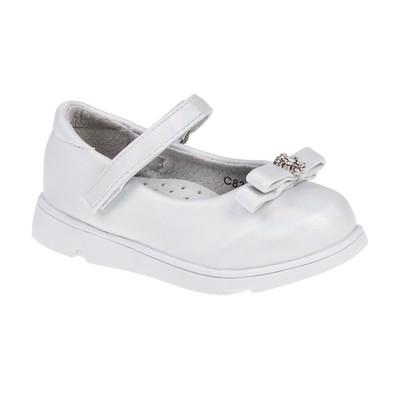 Туфли для девочек арт. С8322 (белый) (р. 21)