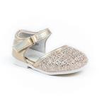 Туфли для девочек арт. С8350 (золотой) (р. 19)