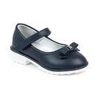 Туфли для девочек арт. С5784 (темно синий) (р. 28)