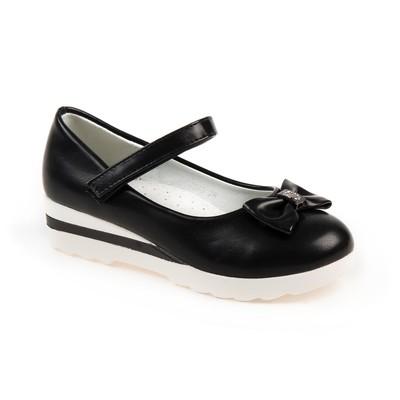 Туфли для девочек арт. С7366 (чёрный) (р. 30)