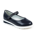 Туфли для девочек арт. С7393 (темно-синий) (р. 27)