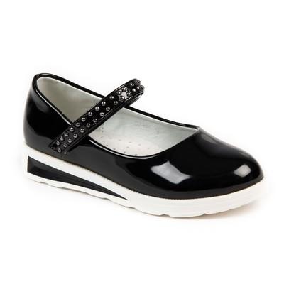 Туфли для девочек арт. С7395 (чёрный) (р. 27)