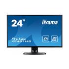 "Монитор Iiyama 23.6"" X2481HS-B1 VA LED 6ms 16:9 DVI HDMI M/M 250cd 178/178 1920x1080 D-Sub"