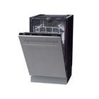 Посудомоечная машина Zigmund & Shtain DW 139.4505 X, 9 комплектов, класс А++, черный