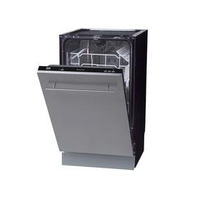 Посудомоечная машина Zigmund & Shtain DW 139.4505 X, 9 комплектов, класс А++, черный Ош
