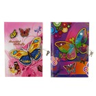 Notebook A5 in gift 56л Lin on the Butterfly lock MIX