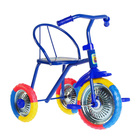 """Велосипед трехколесный """"Озорной ветерок"""", колеса 10"""" и 8"""", цвета микс"""