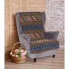 """Накидка на кресло """"Этель"""" Арбат 70х160 ± 2 см"""
