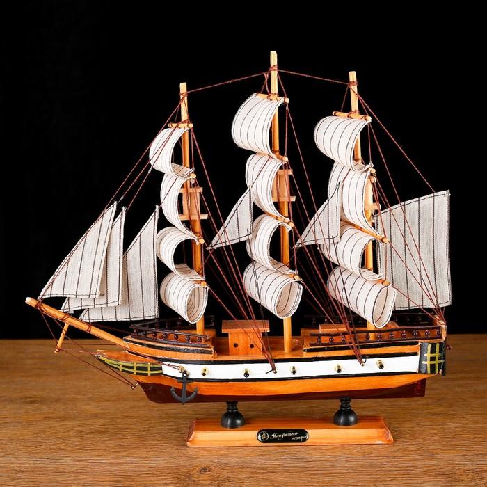 Корабль «Кинбурн», 32×31см