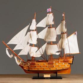 HMS VICTORY, 79x73cm