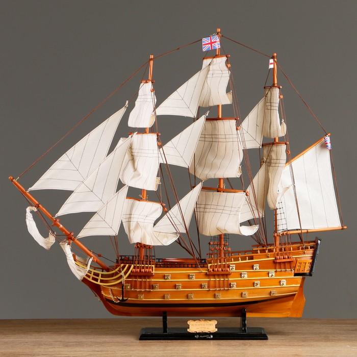 Корабль «Виктория», 79х73 см