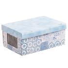 Складная коробка с PVC окошком «Акварель», 34 × 23 × 15 см - фото 171044034