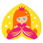 Мини-коврик для ванны на присосках «Принцесса» - фото 105492206