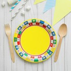 "Plate paper ""picnic"", 18 cm"