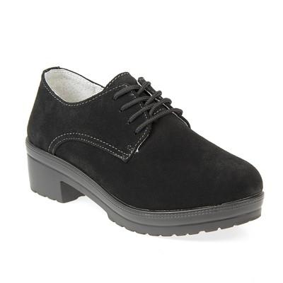 Туфли женские, цвет чёрный, размер 37