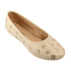 Туфли женские  арт. OH3-7-36 (бежевый) (р. 36) (см 23)