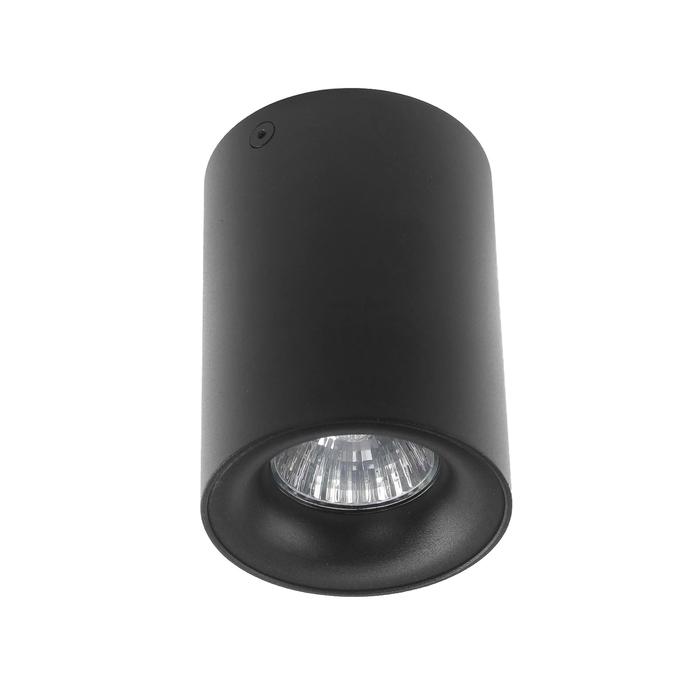 Светильник потолочный Luazon под лампу GU10, 110 х 80 мм, ЧЕРНЫЙ