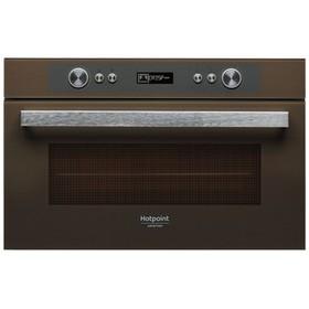 Встраиваемая микроволновая печь Hotpoint-Ariston MD 764 CF HA, 31 л, коричневый