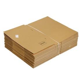 Коробка картонная 38 х 28,5 х 19,5 см, Т-23 Ош