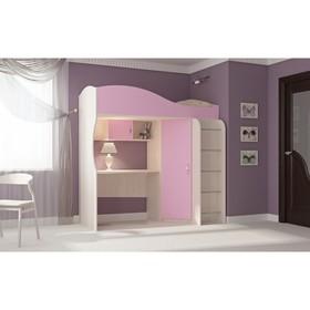 Кровать-чердак Буратино, 1892х1033х1920, розовый