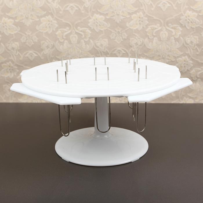 Подставка для декорирования и подачи торта 33х29х4,5 см