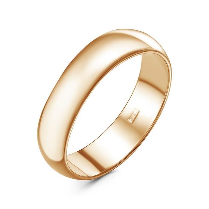 """Кольцо позолота """"Обручальное"""", 18 размер"""