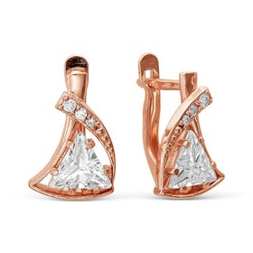 Earrings gilding