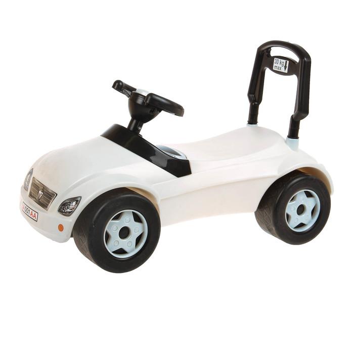 Толокар «Машинка», белый