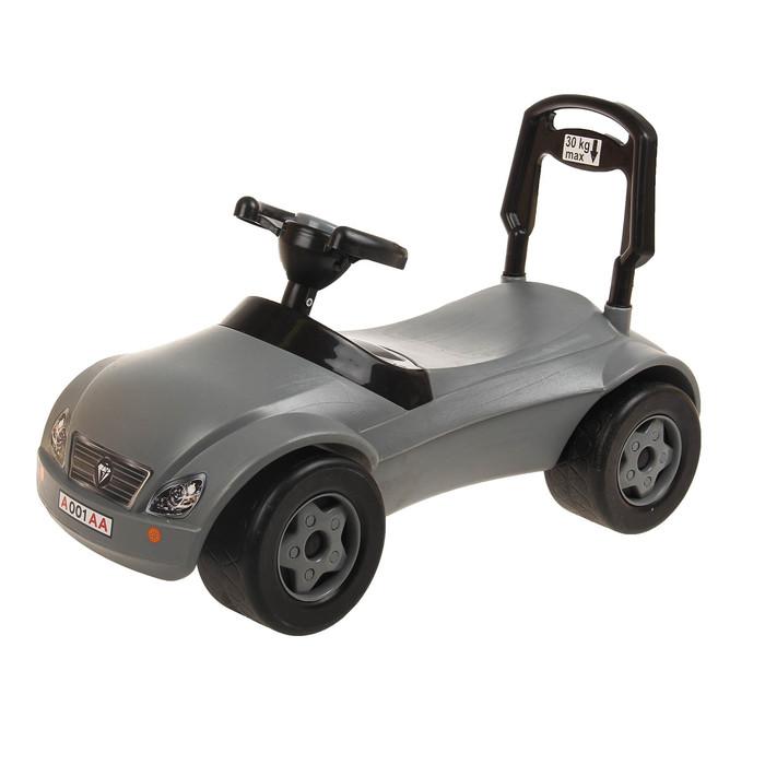 Толокар «Машинка», серый
