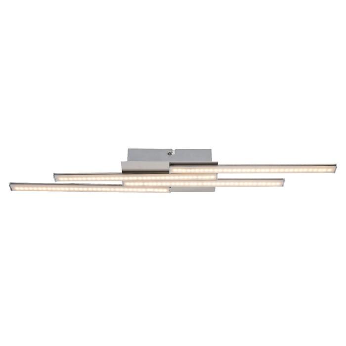 Люстра потолочная ARTAX 1x14Вт LED хром 58x10x4,3см - фото 8442162