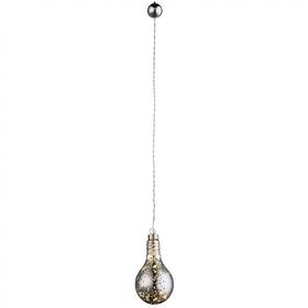 Светильник KRETA 0,24Вт LED прозрачный 8x8x16см