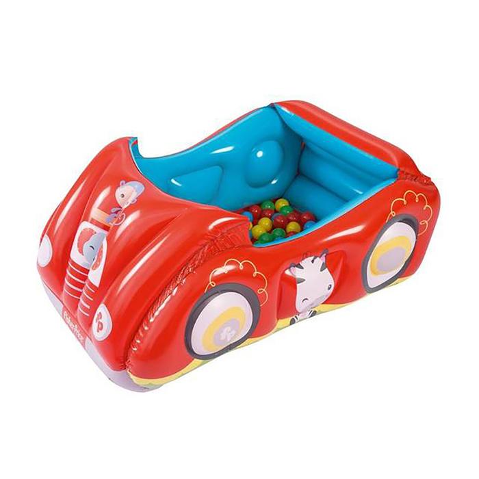"""Игровой центр Fisher Price """"Машина"""" с 25 шарами, 119*79*51 см, от 2 лет (93520)"""