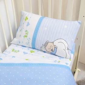 Детское постельное бельё детский Эталоника Мой Ангел 110*145 см,110*150 см,40*60 см 1шт поплин 115 г/м Ош