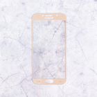 Защитное стекло Mobius для Samsung A5 2017 3D Full Cover (Gold)