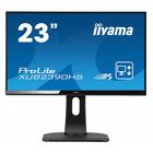 "Монитор Iiyama XUB2390HS-B1 23"", IPS, 1920x1080, 60Гц, 5мс, VGA, DVI, HDMI, чёрный"