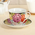 """Decorative vase """"Painting"""": 210 ml Cup, saucer"""