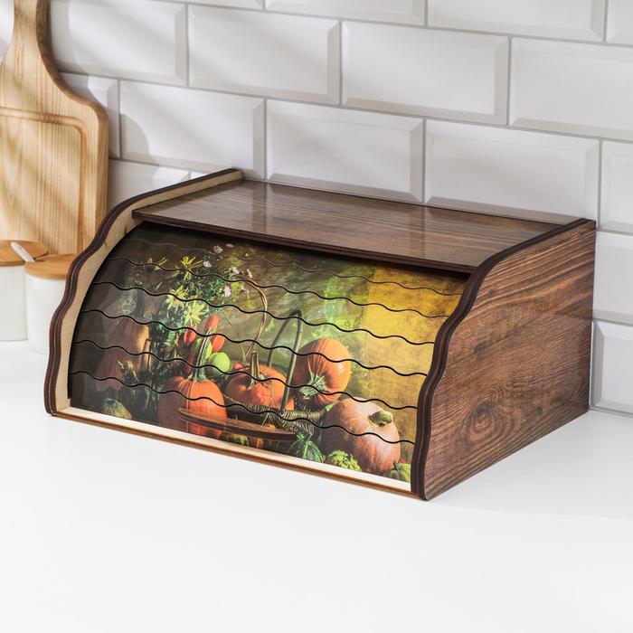 Хлебница «Поляна», 38,5×28×18 см