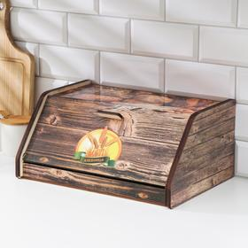 Хлебница «Колоски», 38×27×17 см