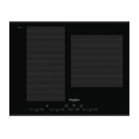 Варочная поверхность Whirlpool SMC 653 F/BT/IXL, индукционная, 3 зоны нагрева, черный