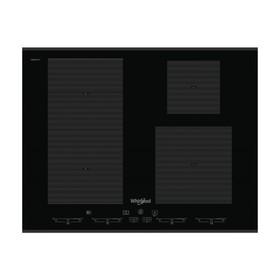 Варочная поверхность Whirlpool SMC 654 F/BT/IXL, индукционная, 4 зоны нагрева, черный