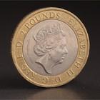 """Монета """"2 фунта 2016 Великобритания 400 лет со дня смерти Уильяма Шекспира. История"""