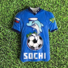 Magnet in the shape of a t-shirt Sochi