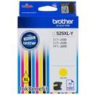 Картридж струйный Brother LC525XLY желтый для Brother DCP-J100/J105/J200 (1300стр.)