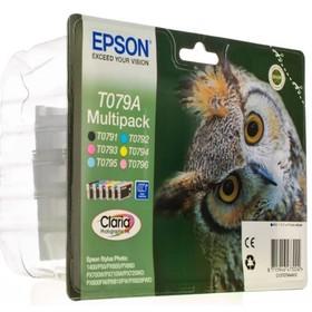 Картридж струйный Epson C13T079A4A10 многоцветный набор карт. для Epson SP P50/PX660/PX720WD   17250