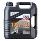 Масло моторное LiquiMoly 4T 10W-40 Motorbike Offroad, 4 л