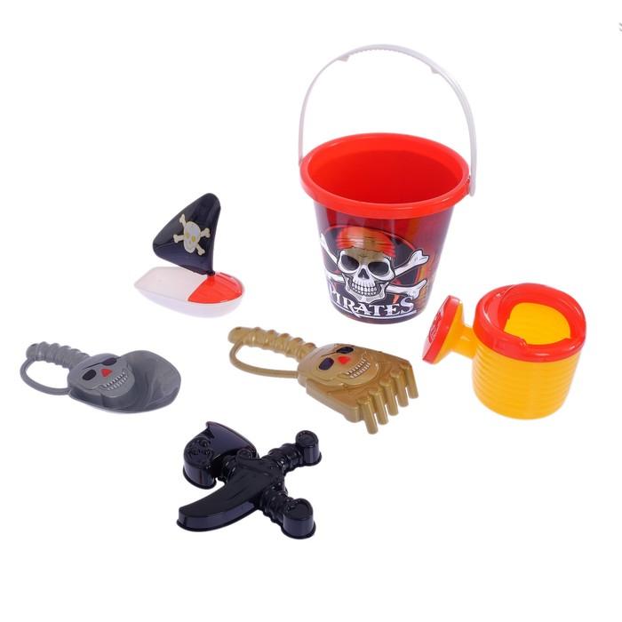 """Песочный набор """"Пират"""", 5 предметов"""