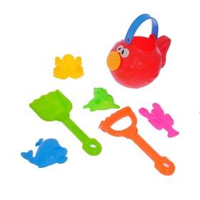 "Sand set ""Fish"", 7 items, MIX"